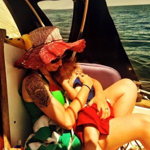 mama-and-erik-on-the-boat